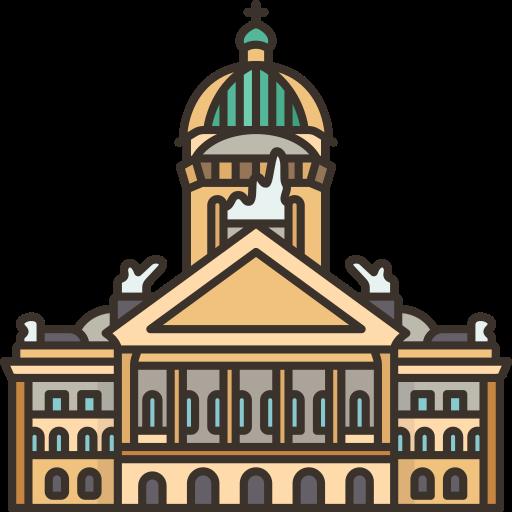 Federal palace of switzerland  free icon