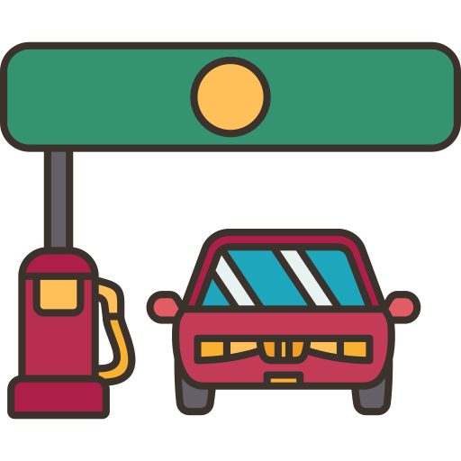 Gas station  free icon