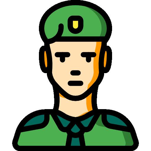 soldat  Icône gratuit