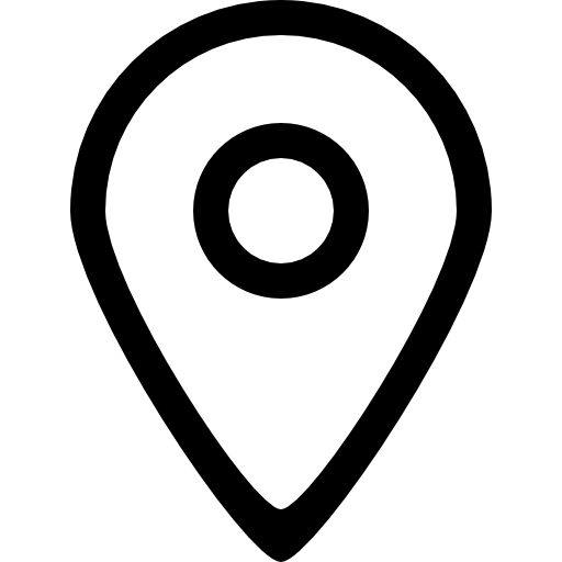 Big map placeholder outlined symbol of interface  free icon