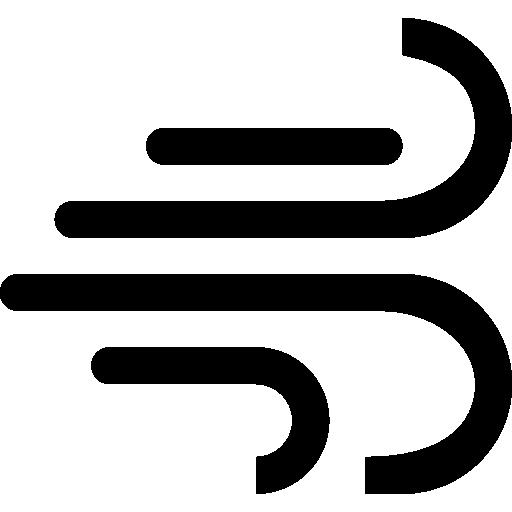 Символ погоды ветер  бесплатно иконка