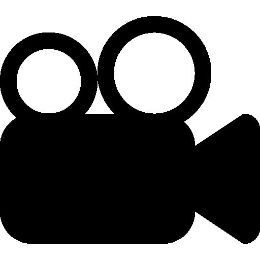 symbole de film de caméra vidéo  Icône gratuit