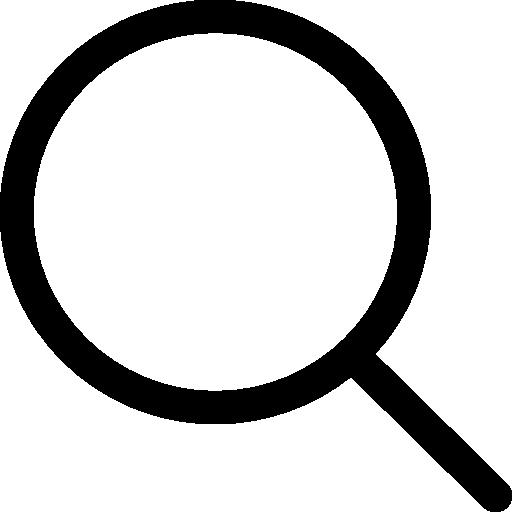Search interface symbol  free icon