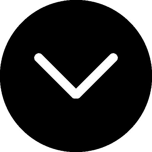 bouton circulaire noir flèche vers le bas  Icône gratuit