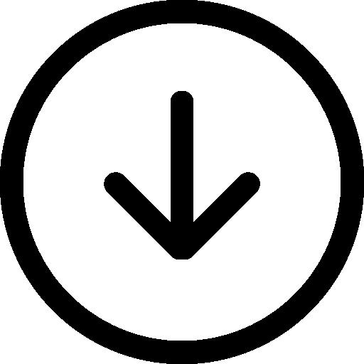 Download circular button  free icon