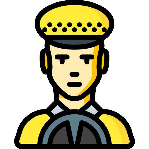conducteur de taxi  Icône gratuit
