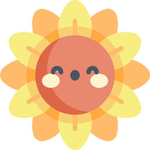 girassol  grátis ícone