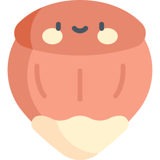 Hazelnut  free icon