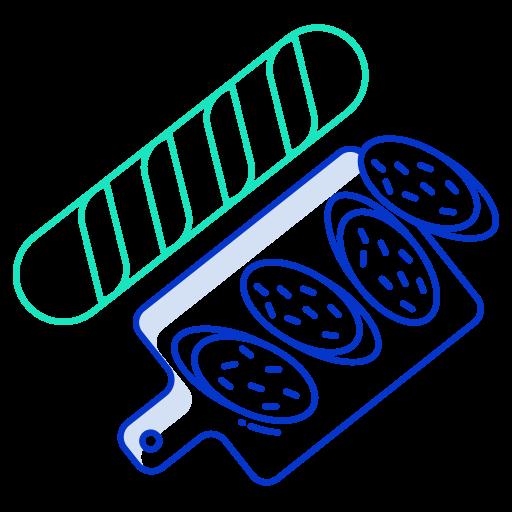 baguette  Icône gratuit