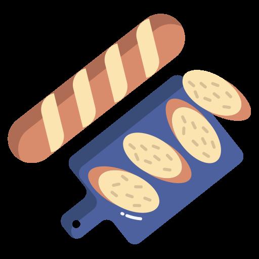 baguete  grátis ícone