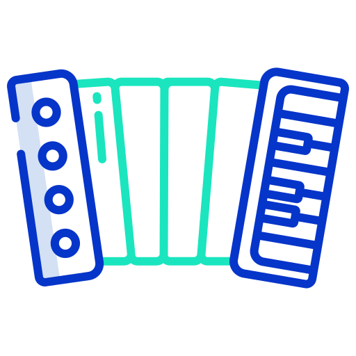 accordéon  Icône gratuit