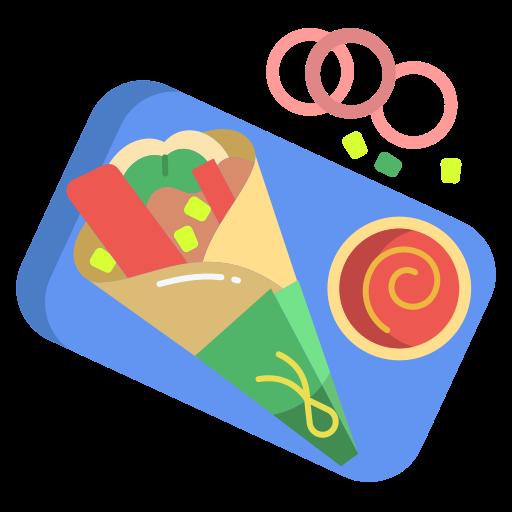 burrito  grátis ícone