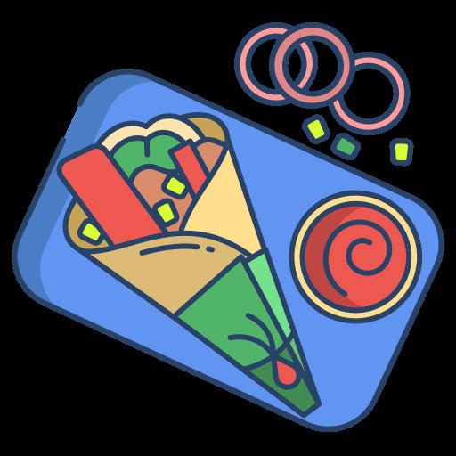 Burrito  free icon