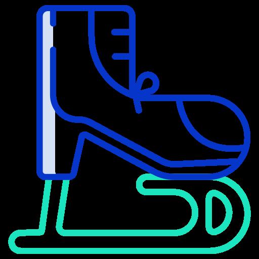 patins à glace  Icône gratuit