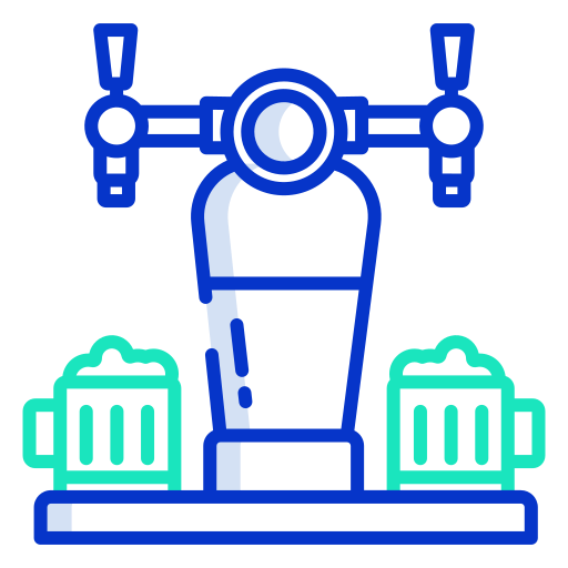 Beer tap  free icon