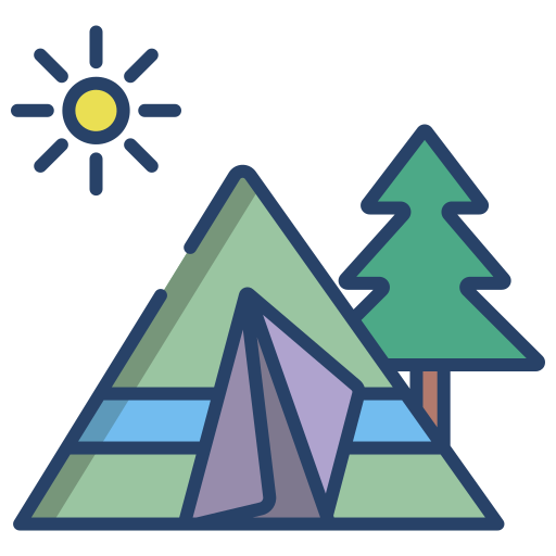 Camping  free icon