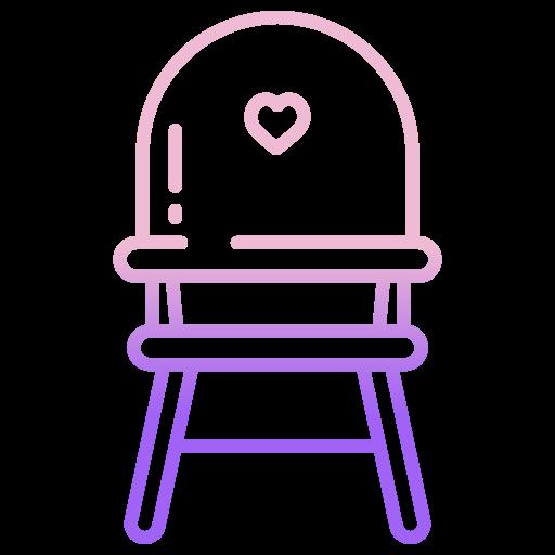 chaise de bébé  Icône gratuit