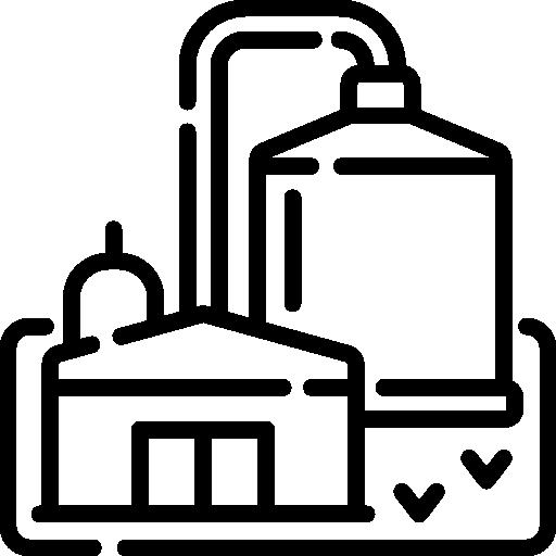 바이오 가스 플랜트  무료 아이콘