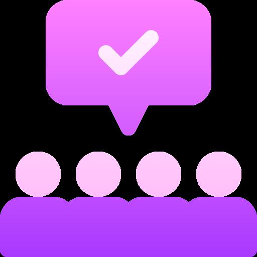 Consensus  free icon