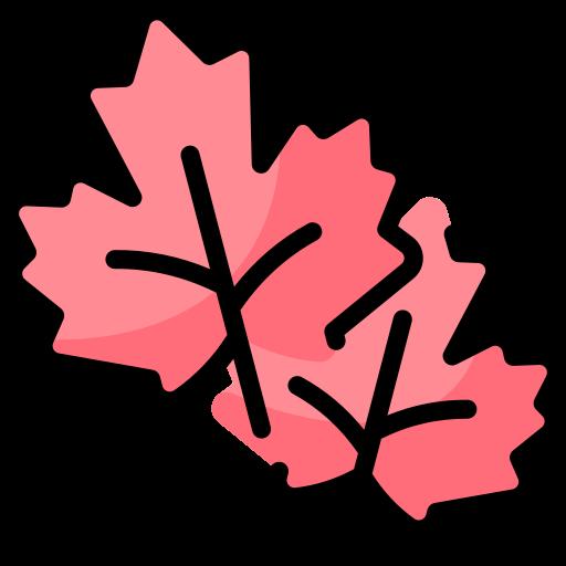 Maple leaf  free icon