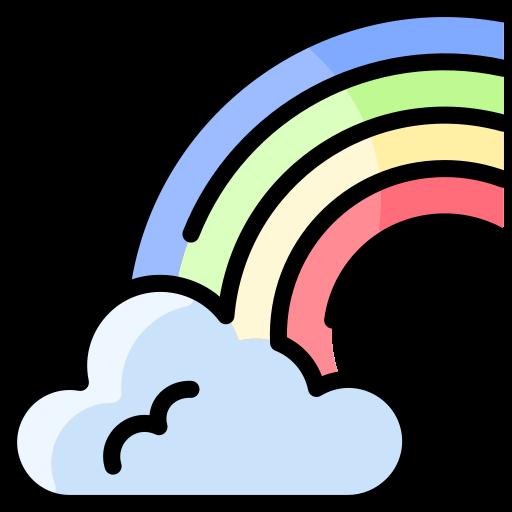 Rainbow  free icon