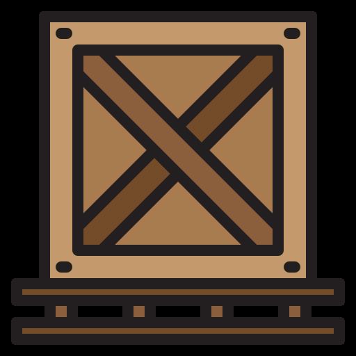 나무 상자  무료 아이콘