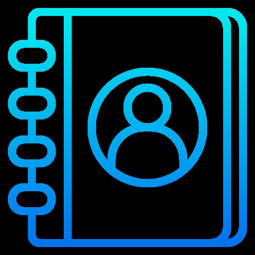 Address book  free icon