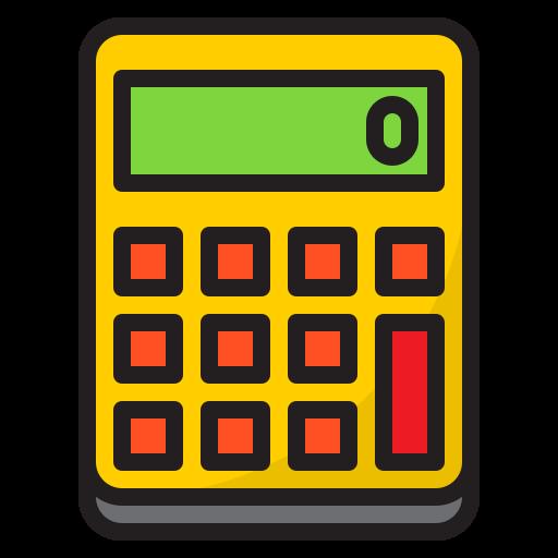 calculatrice  Icône gratuit