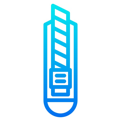 Cutter knife  free icon