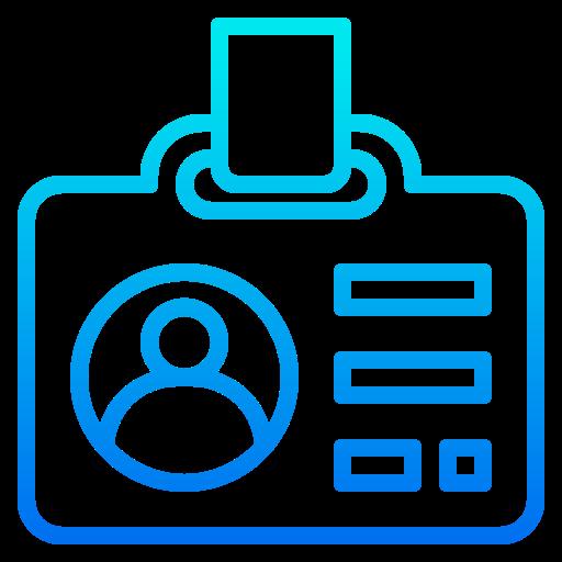 Id card  free icon