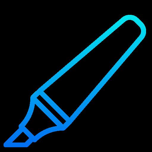 Marker  free icon