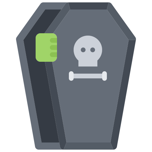 Coffin  free icon