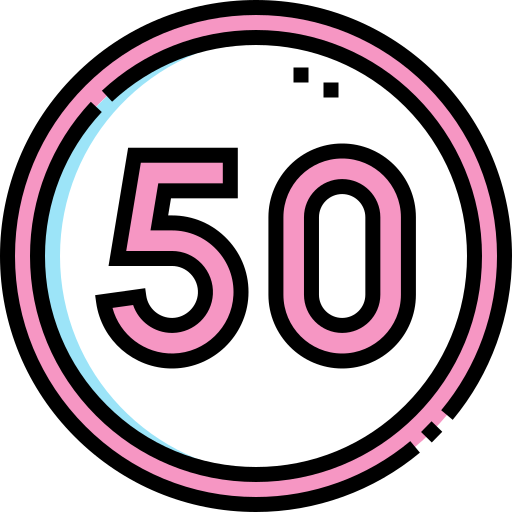 50  free icon
