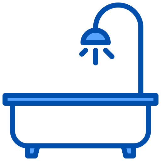 Bath  free icon