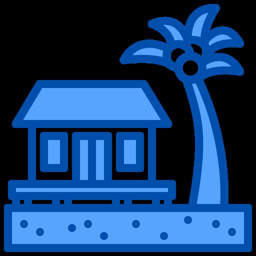 Resort  free icon
