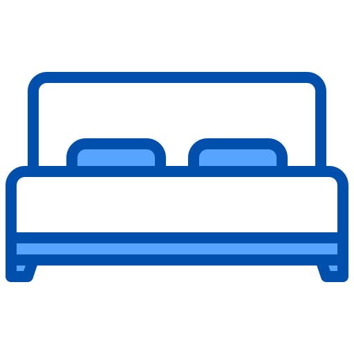 Bed  free icon