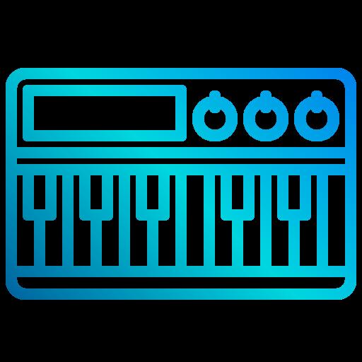 Electric piano  free icon