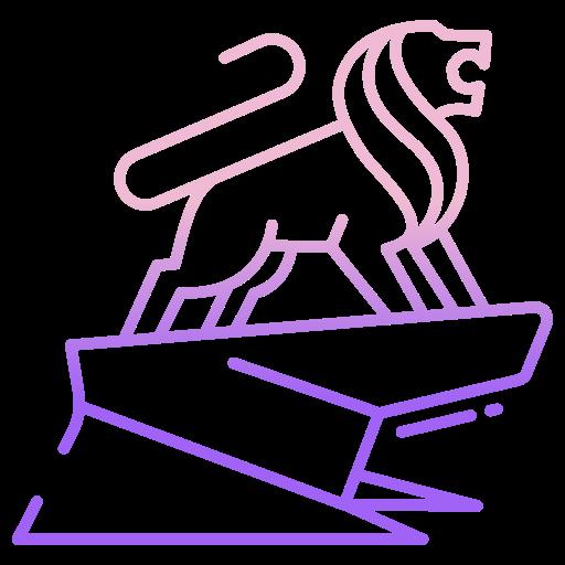 lion  Icône gratuit