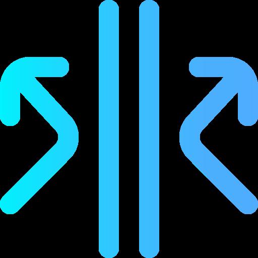 reflektierend  kostenlos Icon