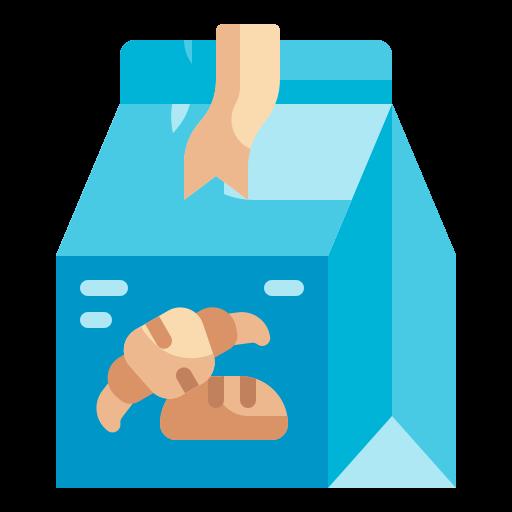 sac en papier  Icône gratuit
