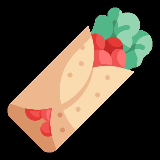 burrito  Icône gratuit