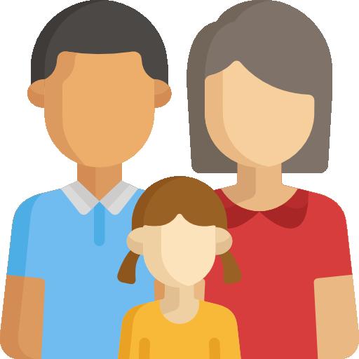 familia  icono gratis