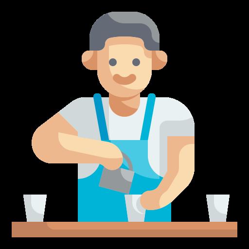 barista  Icône gratuit