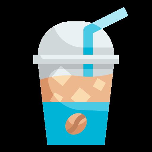 차가운 커피  무료 아이콘