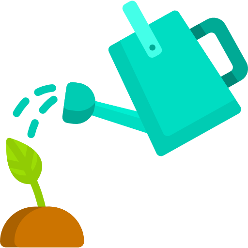 Watering can  free icon