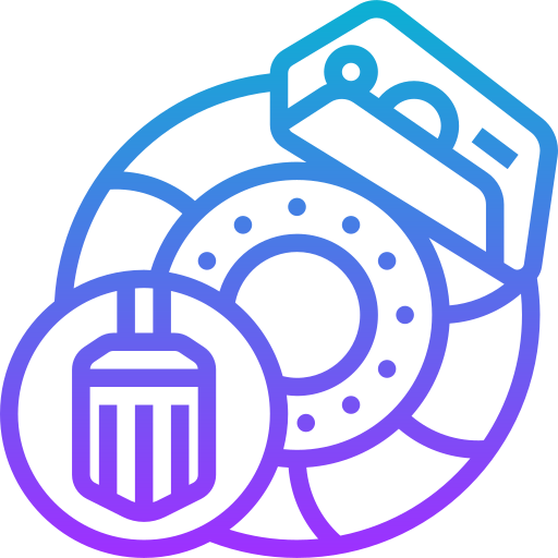 Brake disc  free icon