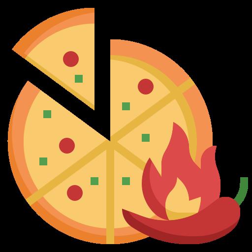 Пицца  бесплатно иконка