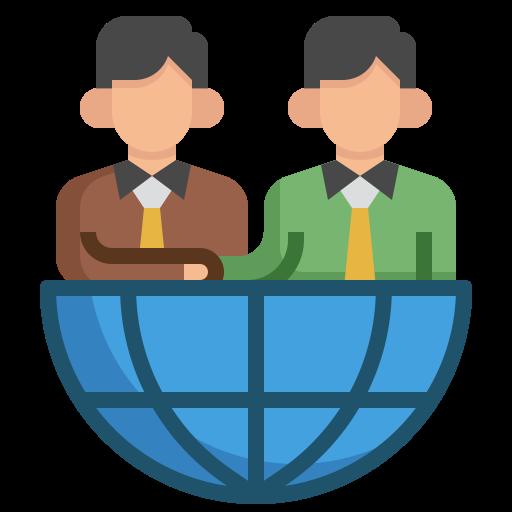 Сотрудничество  бесплатно иконка