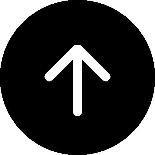 bouton fléché vers le haut  Icône gratuit