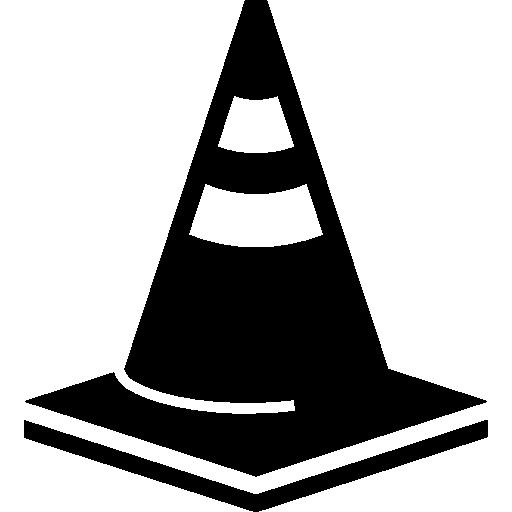 Cone traffic signal tool  free icon